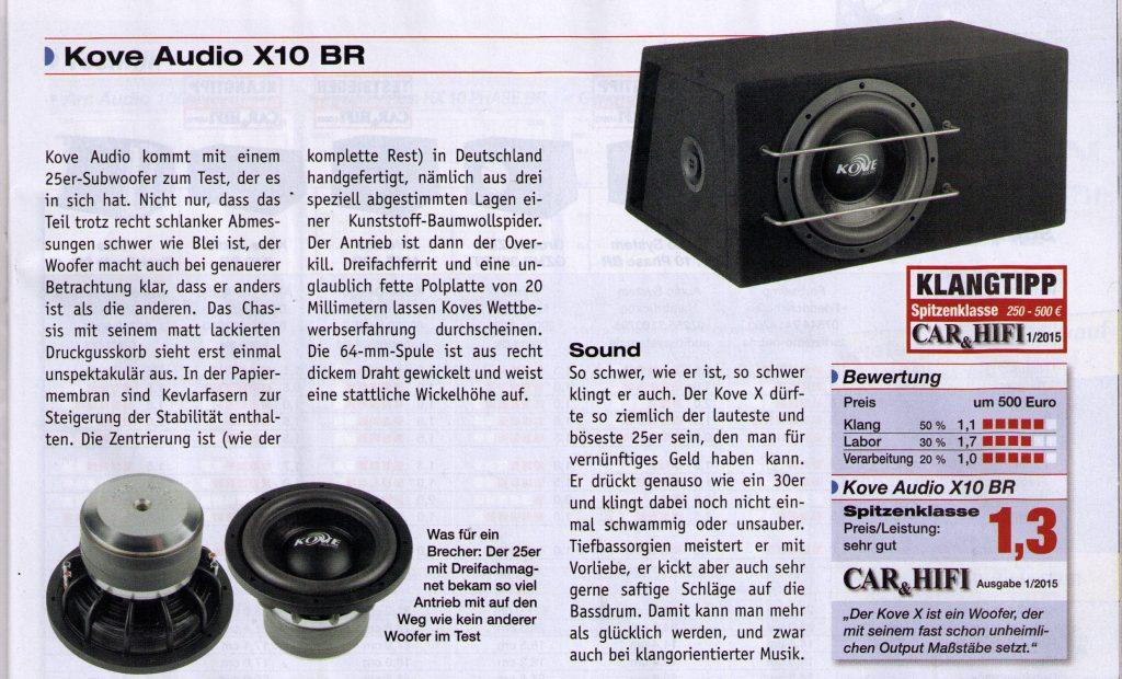 Car&Hifi X10BR 1/1